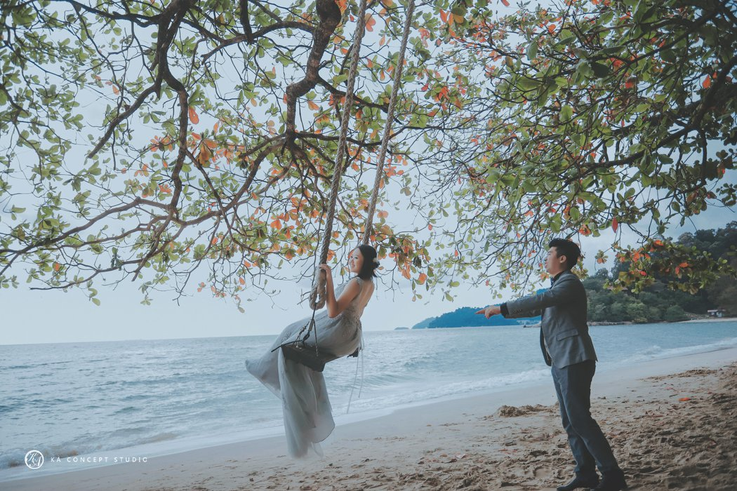 Natural Pre-wedding at sitiawan