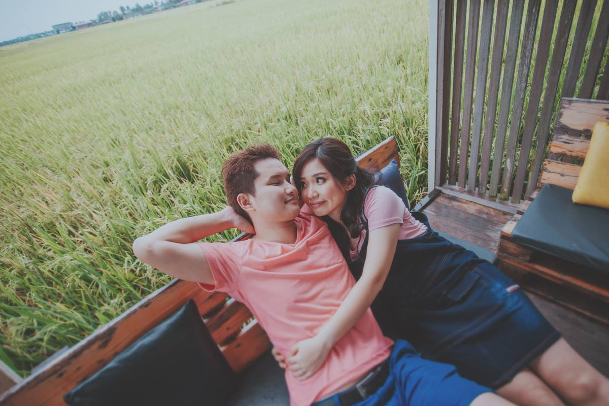 Pre-wedding photography at sekinchan