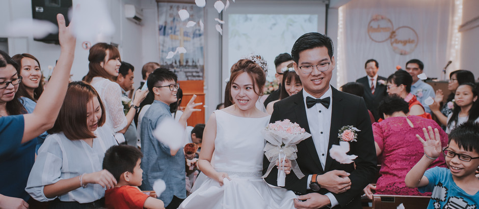 Andrew & Angie - Ipoh Church Wedding photography