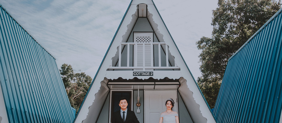 TC & Cindy - Pre-wedding at Pulau Pangkor