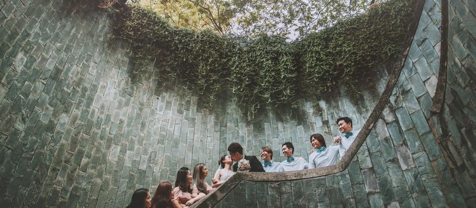 Ivan & Liz - Hotel Fort Canning Singapore ROM Garden Wedding Photography