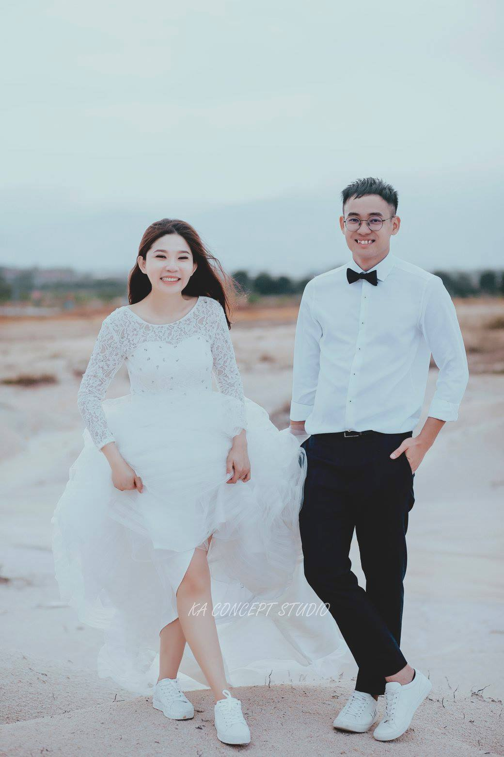 Natural Pre-wedding at ipoh perak