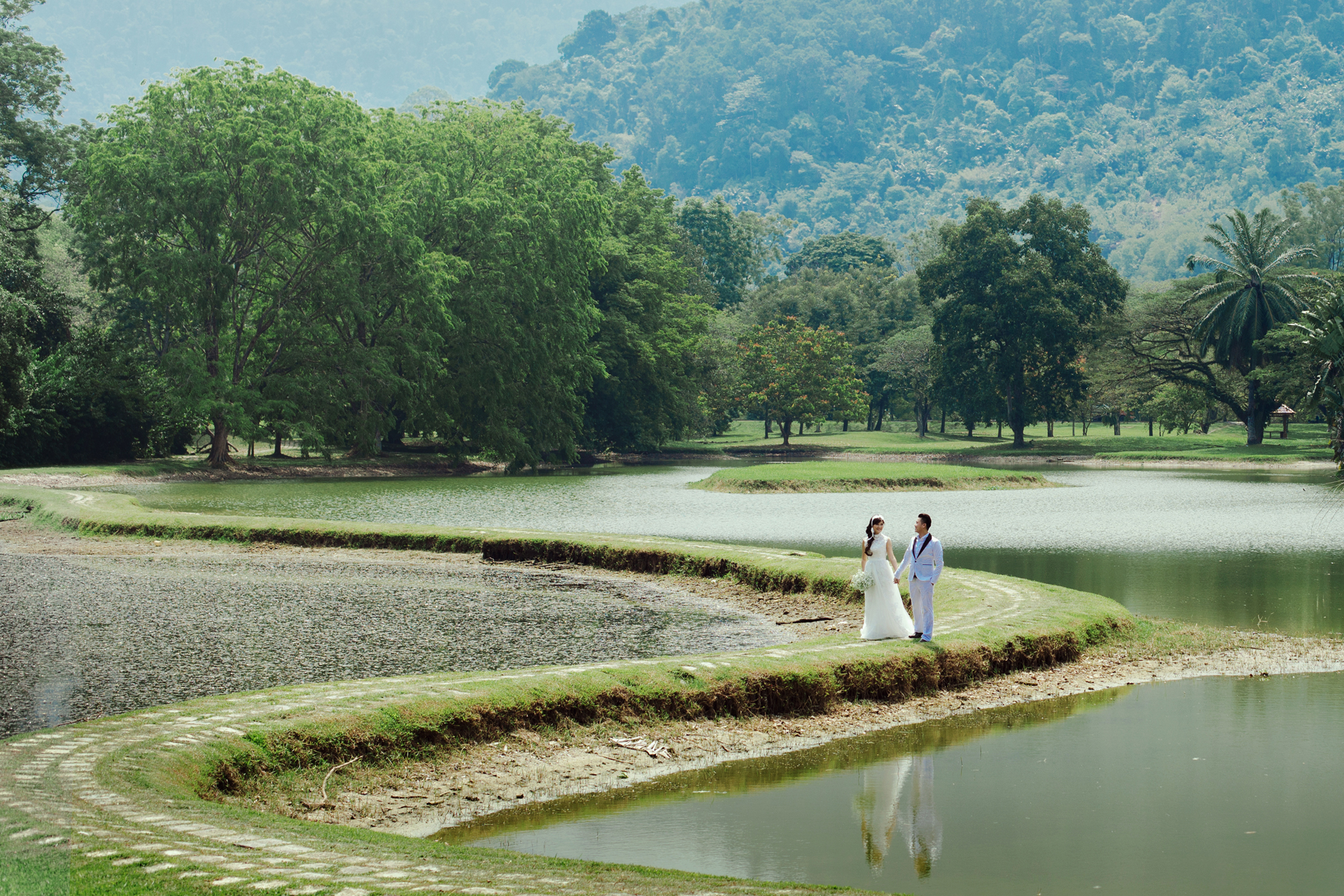 Natural Pre-wedding at Taiping perak