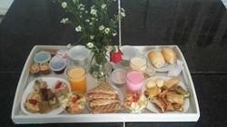 Café da Manhã da Suíte de Núpcias
