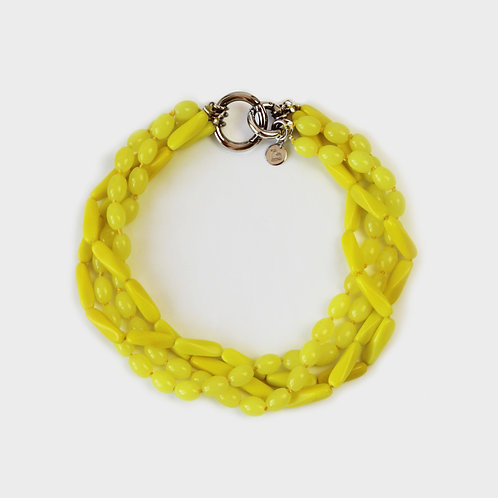 FLOTTEUR NECKLACE - DOUBLE  / LEMON