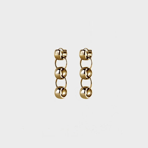 PANORAMA EARRINGS / GOLD