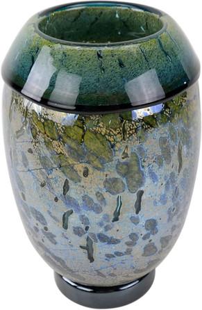 Silvered Vase