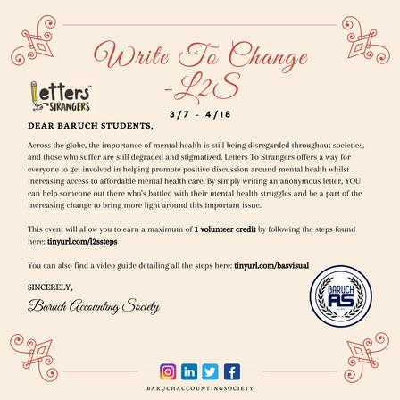 Write To Change - L2S