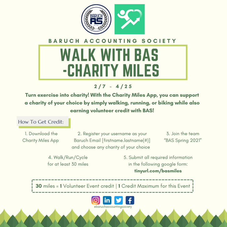 Walk With BAS - Charity Miles