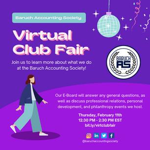 Virtual Club Fair