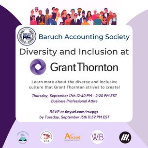 Diversity amd Inclusion at Grant Thornton