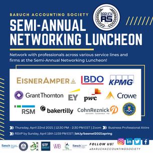 Semi-Annual Networking Luncheon