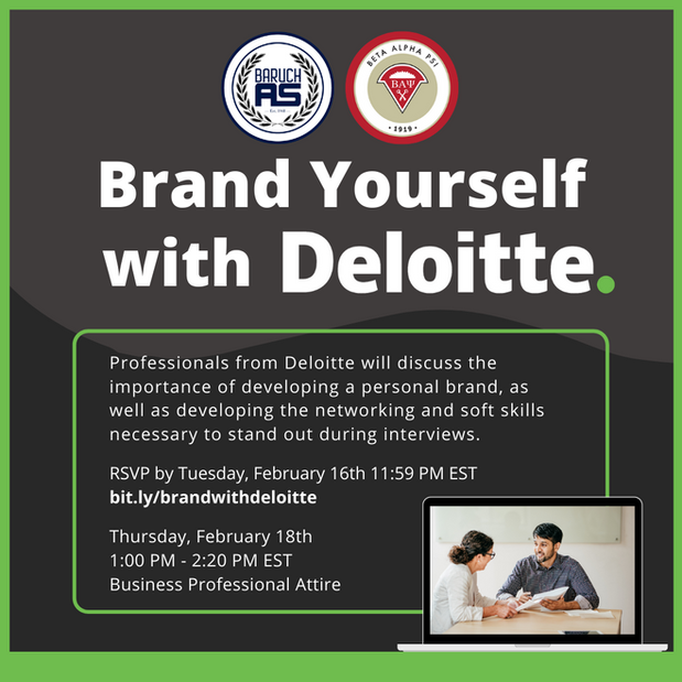 Brand Yourself with Deloitte