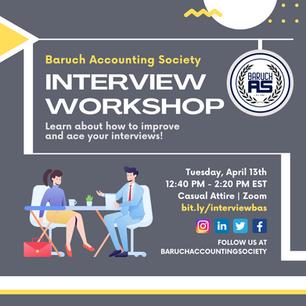 Interview Workshop