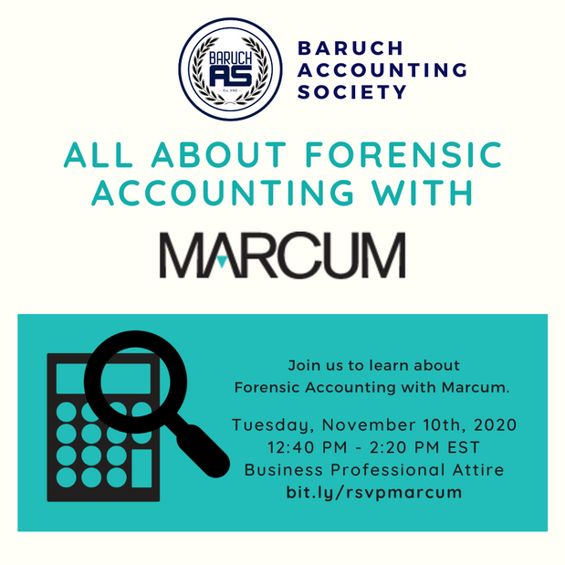 All About Forensic Accounting with Marcum