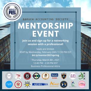 Mentorship Event