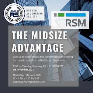 The Midsize Advantage with RSM