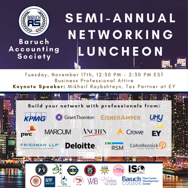 Semi-Annual Networking Luncheon