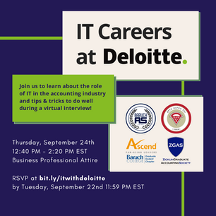 IT Careers at Deloitte