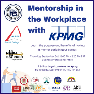 Mentorship in the Workplace with KPMG