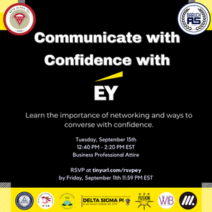 Communicate with Confidence with EY