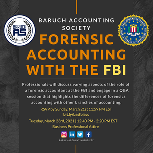 Forensic Accounting with the FBI