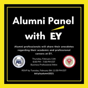 Alumni Panel with EY