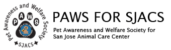 PAWS for SJACS logo