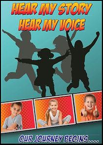 Hear my story, hear my voice comic strip