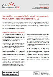 Supporting Bereaved Children and Young P