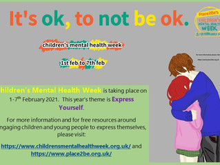 Children's Mental Health Week 1 - 7 February