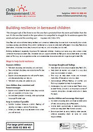 Building Resilience in Bereaved Children