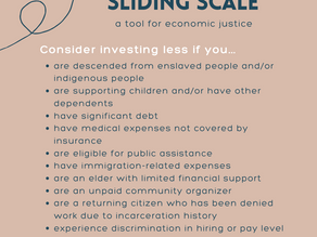 A sliding scale for economic justice