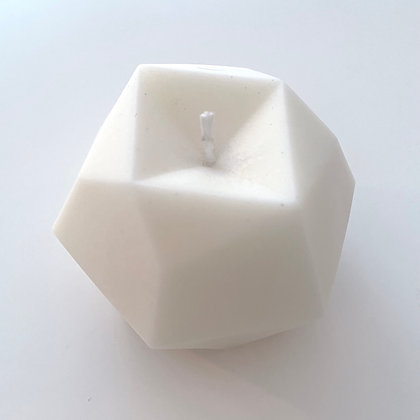 Waxed Diamond Candle