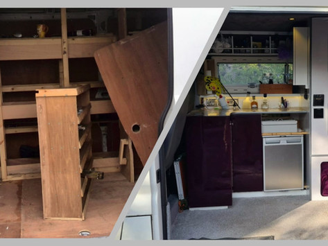 'No van conversion is ever complete' Grant's family camper.