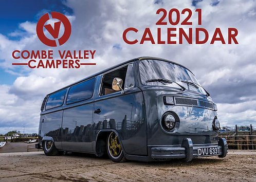 Combe Valley Campers 2021 Calendar