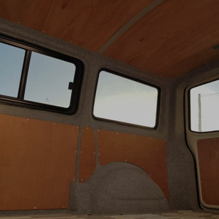 How to fit ply panels to your van