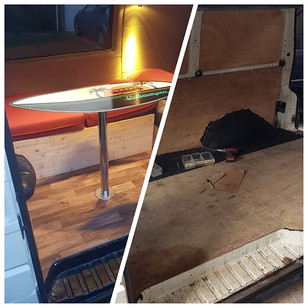 What planning is needed before a van conversion