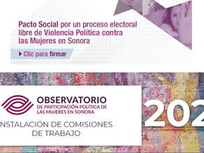 Se suma CIPPE al Observatorio de Participación Política de la Mujer en Sonora