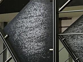 Treppengeländer grau-anthrazit