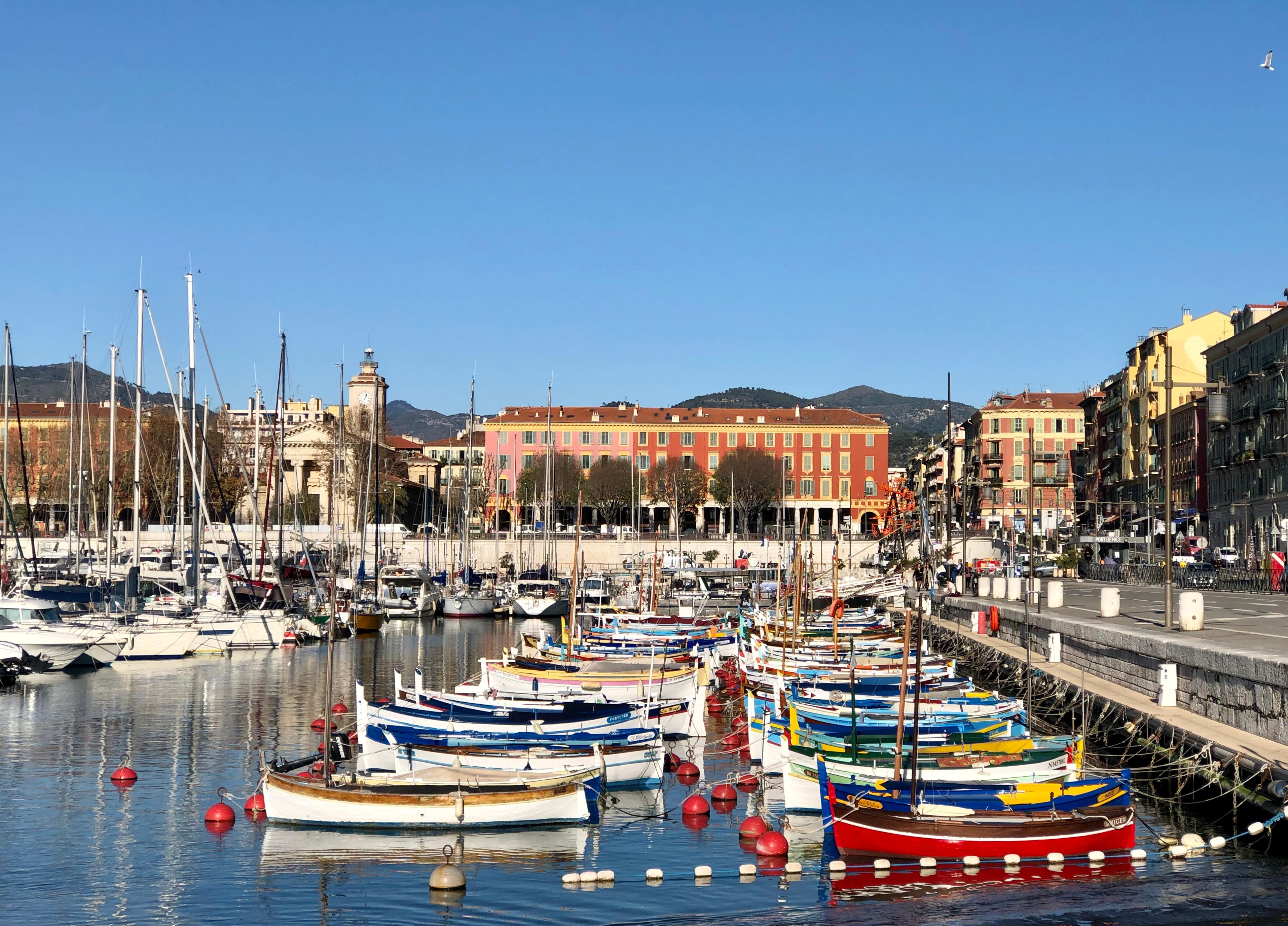 Le Quartier du Port à Nice