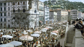 L'immanquable Cours Saleya à Nice