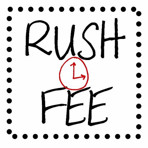 Rush Fee for Label Order