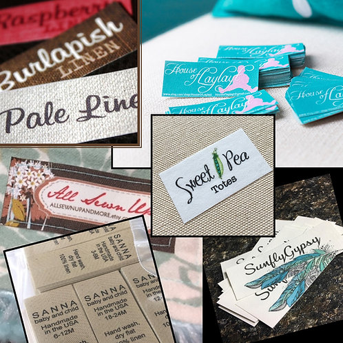 Poly Cotton Multi-Purpose Labels