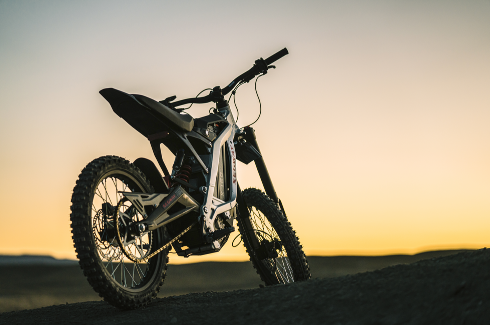 Segway Electric Motorcycle