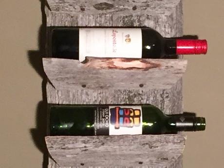 #51 Shelved Wine Rack