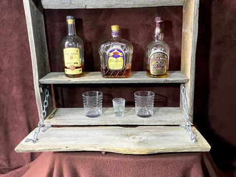 #2 Mounted Whiskey Bar