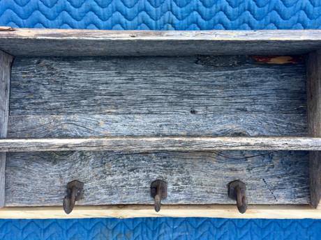 #6 Wall Shelf With Hooks