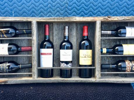 #87 Iron Bar Wine Rack - Large