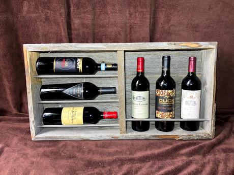 #19 Iron Bar Wine Rack - Small
